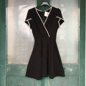 Retro Wrap Dress